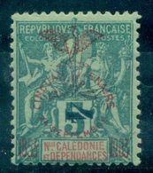 NOUVELLE CALEDONIE N° 83 T II N X Légère TB Cote:60 € (maury ) - Neukaledonien