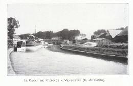 1924 - Iconographie - Vendhuile (Aisne) - Le Canal De L'Escaut - FRANCO DE PORT - Non Classés