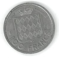 MONACO - 100 FRANCS 1956 - RAINIER III PRINCE DE MONACO - Monaco
