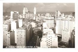 POSTAL    SAO PAULO  -BRASIL  -VISTA PARCIAL DO CENTRO  (FOTO BENASSI) - São Paulo