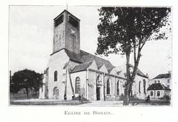 1924 - Iconographie - Bohain-en-Vermandois (Aisne) - L'église - FRANCO DE PORT - Non Classés