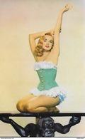 CARTE POSTALE ORIGINALE DES ANNEES 1950 : BARBARA LANG  ACTRICE DE CINEMA  JEUNE FEMME PIN UP SEXY EROTIC - Pin-Ups