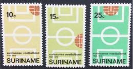Surinam Used 1970 The 50th Anniversary Of Surinam Football Association, Soccer - Surinam
