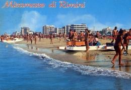 Miramare Di Rimini - La Spiaggia - Formato Grande Viaggiata – E 9 - Rimini