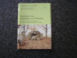 HOMMES ET PAYSAGES N° 16 Itinéraire Des Mégalithes En Wallonie Ramioul Velaine Furfooz Hollain Gozée Wéris - Cultural
