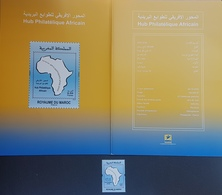 Morocco 2016 MNH Stamp + Brochure - Africa Philately Hop - Maroc (1956-...)