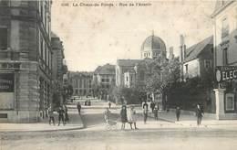 LA CHAUX DE FONDS - Rue De L'avenir. (la Synagogue). - Jewish