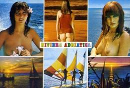 Riviera Adriatica - Donnina - Nudo - Sex - Erotico - Formato Grande Non Viaggiata – E 9 - Non Classificati