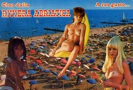 Riviera Adriatica - Donnina - Nudo - Sex - Erotico - Formato Grande Viaggiata – E 9 - Non Classificati