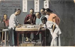 Chine - Hong Kong / Belle Oblitération - 88 - Chinese Playing At Fantan - Défaut - China (Hong Kong)