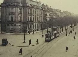 Bruxelles Avenue Louise Avec Tramway - Lanen, Boulevards