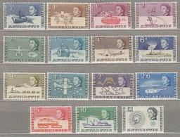 BRITISH ANTARCTIC TERRITORY 1963 MVLH (**/*) Mi 1-15, SG 1-15 #23294 - Unused Stamps
