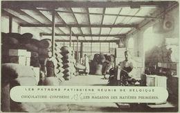 Bruxelles Les Patrons Patissiers Reunis De Belgique Chocolaterie Confiserie - Petits Métiers