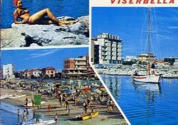 Viserbella - Donnina - Formato Grande Viaggiata Mancante Di Affrancatura – E 9 - Rimini
