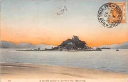 Chine - Hong Kong / Belle Oblitération -120 - A Rockey Island In Kowloon Bay - Défaut - China (Hong Kong)