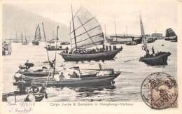 Chine - Hong Kong / Belle Oblitération -136 - Cargo Junks And Sampans - China (Hong Kong)