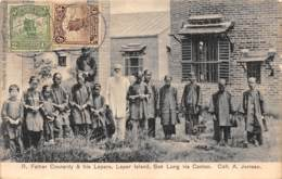 Chine - Canton / Belle Oblitération -140 - Father Courardy And His Lepers - Sek Lung - Défaut - China