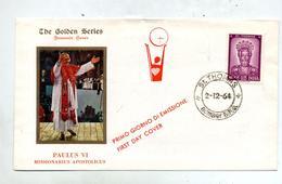 Lettre Fdc 1964 Saint Thomas - FDC