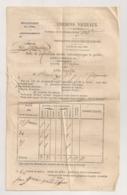 1857AUDE / MOUSSAN /  CHEMINS VICINAUX / IMPOTS / CONTRIBUTIONS INDIRECTES  B741 - Documents Historiques