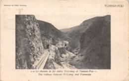 Chine - Yunnam / Belle Oblitération - 186 - Le Chemin De Fer Entre Yi Léang Et Yunnan Fou - China