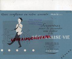 88- CHARMES- RARE BUVARD JEAN ROUYER 16 AVENUE GARE-ASSURANCES SEQUANAISE VIE-PARIS 4 RUE JULES LEFEBVRE - Banque & Assurance