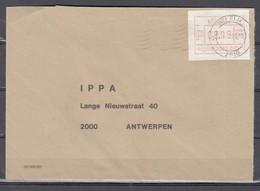 Brief Van Wilrijk Naar Antwerpen - Postage Labels