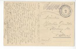 AVIATION FELDPOST BALLON 2 PIONIERKOMP. SUISSE BALLON SCHWEIZ AIRSHIP ZEPPELIN KLOTEN / FREE SHIPPING REGISTERED - Postmark Collection