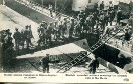 N°66397 -cpa Le Havre -blessés Anglais Regagnant Le Bateau Hopital- - Guerre 1914-18