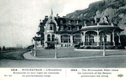 N°66400 -cpa Nice Havrais -l'hosterllerie Normande Où Sont Logés Les Membres Du Gouvernement Belge- - Guerre 1914-18