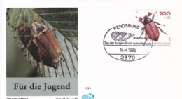 Germany FDC 1993 Insects Für Die Jugend (T20-19) - FDC: Covers