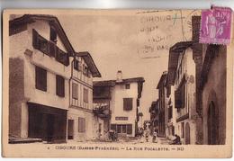 CPA - 64 - CIBOURE - La Rue Pocalette Et Sandallier Travaillant Dans La Rue - édit ND N°4 Vers 1930 1940  Environ - Ciboure