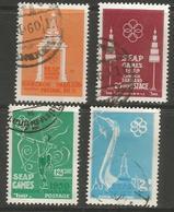 Thailand - 1959 SE Asia Peninsula Games Used    Sc 333-6 - Thailand