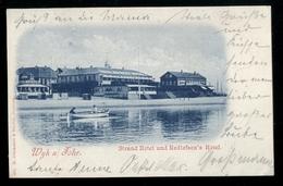 GERMANIA - DEUTSCHLAND - 1904 - FOHR - STRAND HOTEL UND REDLEFSEN'S HOTEL - Föhr