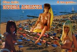 Ciao  Dalla Riviera Adriatica - A Tuo Gusto - Donnina - Nudo - Sex - Erotico - Formato Grande Viaggiata – E 9 - Non Classificati