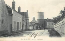 URY - Service Des Eaux,château D'eau. - Châteaux D'eau & éoliennes