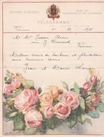 ROYAUME DE BELGIQUE, Télégramme Décoré, Régie Des Télégraphes Et Téléphones 1950 - Non Classés
