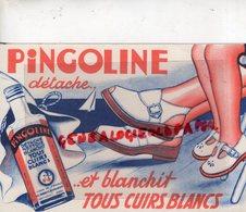 59- WILLEMS- NORD- BUVARD PRODUITS DU PINGOUIN- PINGOLINE DETACHANT CHAUSSURES CUIR BLANC - Chaussures