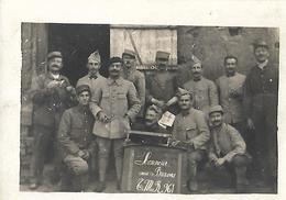 Carte Photo Non Située  Militaires Guerre 1914 1918 Mécaniciens Lampe à Souder TMR 961 - Guerres - Autres