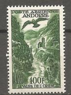 ANDORRE - PA  Yv. N°  2  ** MNH  100f   Paysage    Cote  17 Euro  TBE  2scans - Poste Aérienne