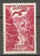 ANDORRE - PA  Yv. N°  3 ** MNH  200f   Paysage    Cote  33 Euro  TBE  2scans - Poste Aérienne
