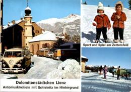 Dolomitenstädtchen Lienz - Antoniuskirchlein Mit Schleinitz Im Hintergrund - 3 Bilder (13023) - Lienz