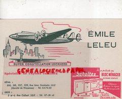59- LILLE- BUVARD EMILE LELEU- AVIATION AVION SUPER CONSTELLATION LOCKHEED-RUE LEON GAMBETTA-SCHOLTES RUE COLBERT - Produits Ménagers