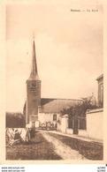 MELSEN - De Kerk - Ongelopen - Merelbeke