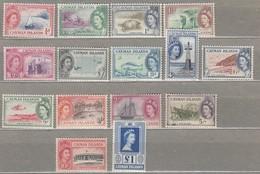 CAYMAN ISLANDS 1953 MMH/MVLH (**/*) Look Scan Mi 136-1503, SG 148-161 #23300 - Cayman Islands