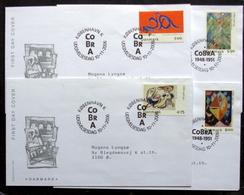 DENMARK 2006   COBRA KUNST  MInr.1446-49   FDC   ( Lot  Ks ) FOGHS COVER - FDC