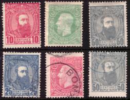 Congo Lot Entre 1/10*/(o) Léopold II - Congo Belge