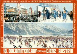 10. Dolomitenlauf 60 Km - Lienz, Austria - 3 Bilder * 27. 12. 1979 - Lienz