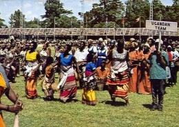 Uganda Team Of Dancers - Kenya - Formato Grande Viaggiata – E 9 - Oeganda