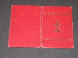 LIEGE-5/1/1896- CARNET IDENTITE DE J BERGER Né à Huy Le 22/6/1864-Photographe De La Sureté Du Parquet ... - Documents Historiques