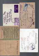 GB: Four Records, Fieldpost Postmarks Respectively Connected With Word War I/II, See Scan - Great Britain